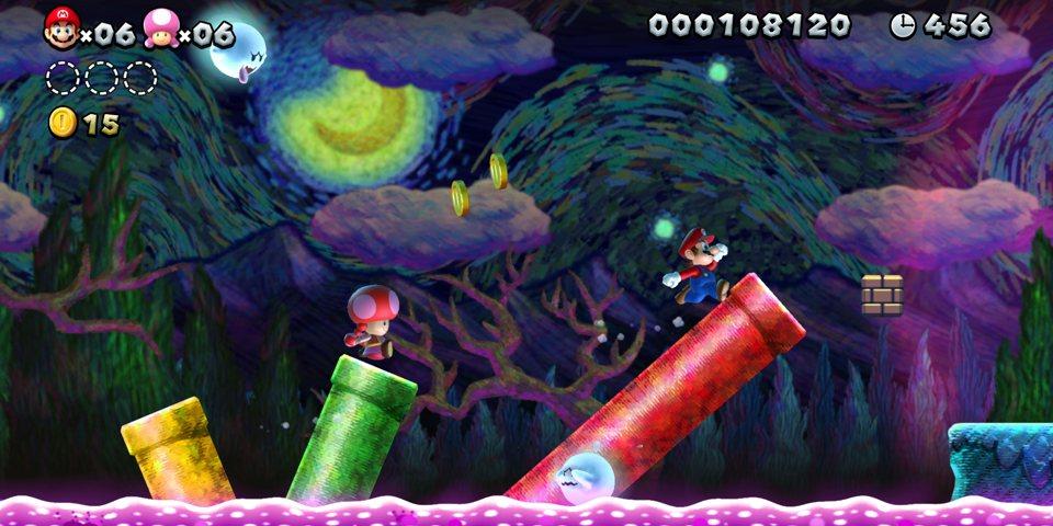 Super Mario Bros. U Deluxe berrikuspena 2