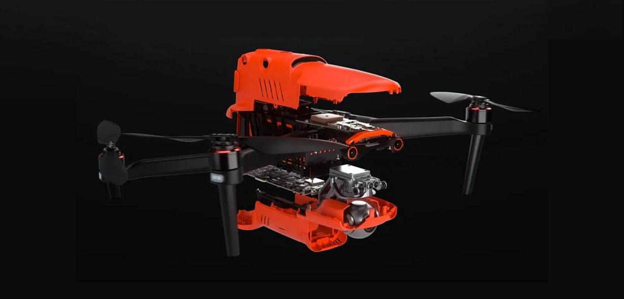 Kontuz, DJI: EVO II 8K bideoa grabatzeko gai den lehenengo drone tolesgarria da