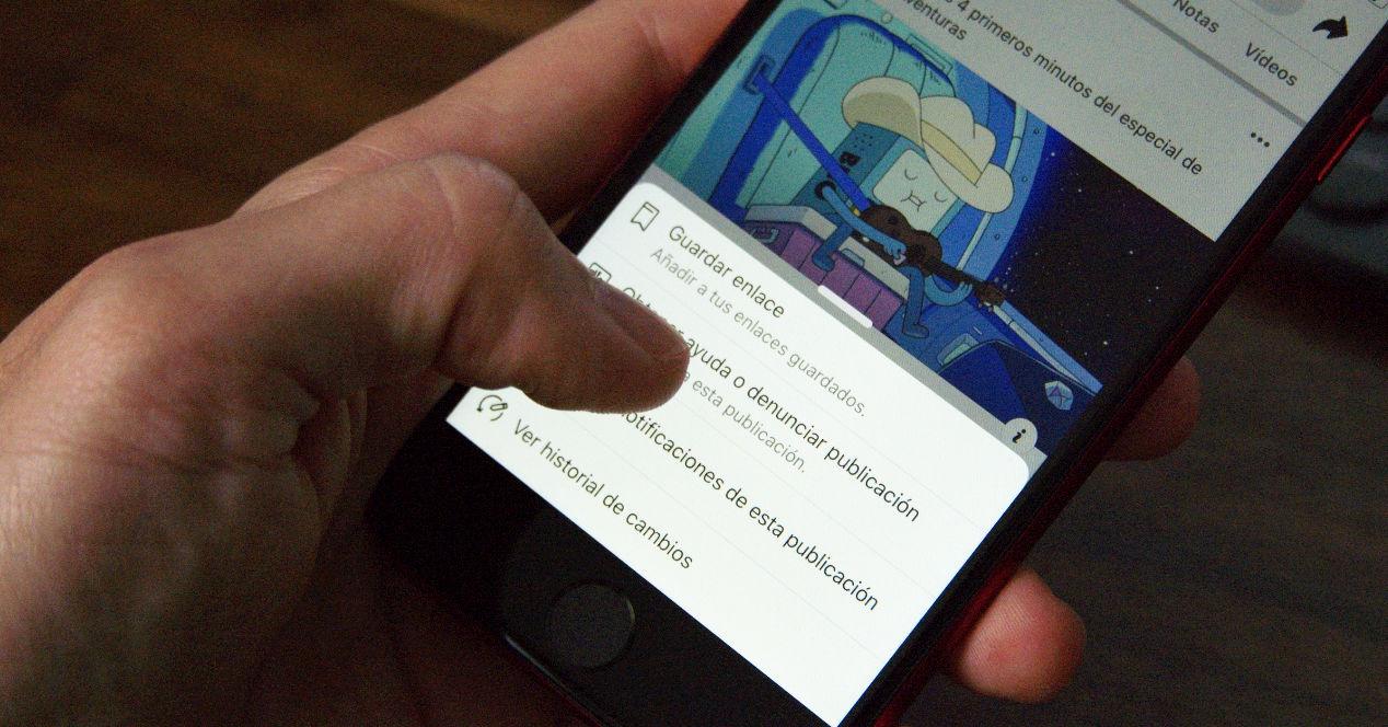 Instagram eta Facebook partekatzeko aukera interesgarria
