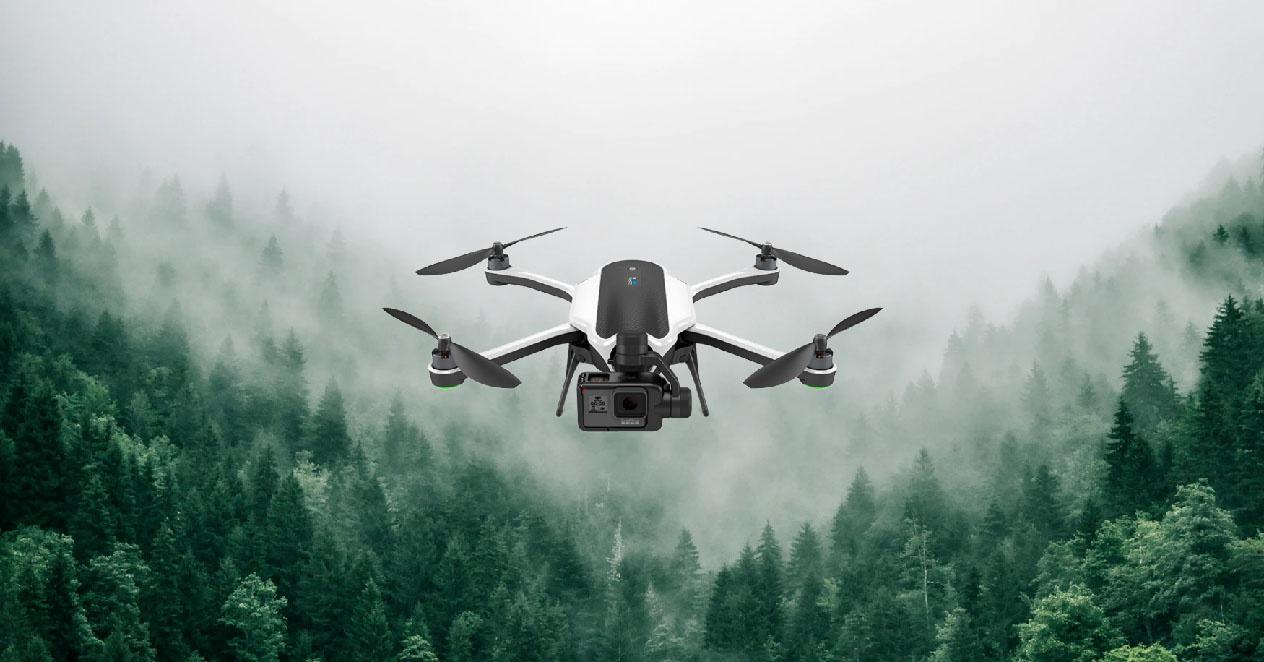 GoPro droneek hegan egiten jakin zutenean gelditu zen 1 Urtarrila, badago konponbiderik?