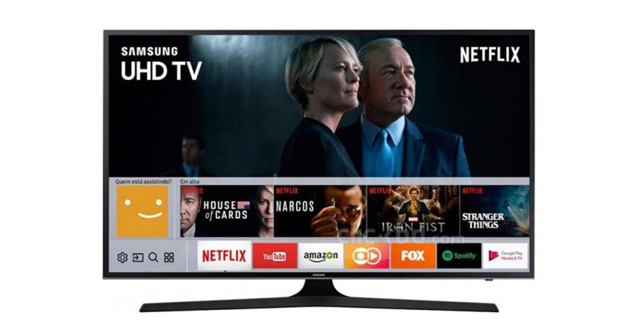 Lau alternatiba Netflix zure Samsung telebistan ikusten jarraitzeko