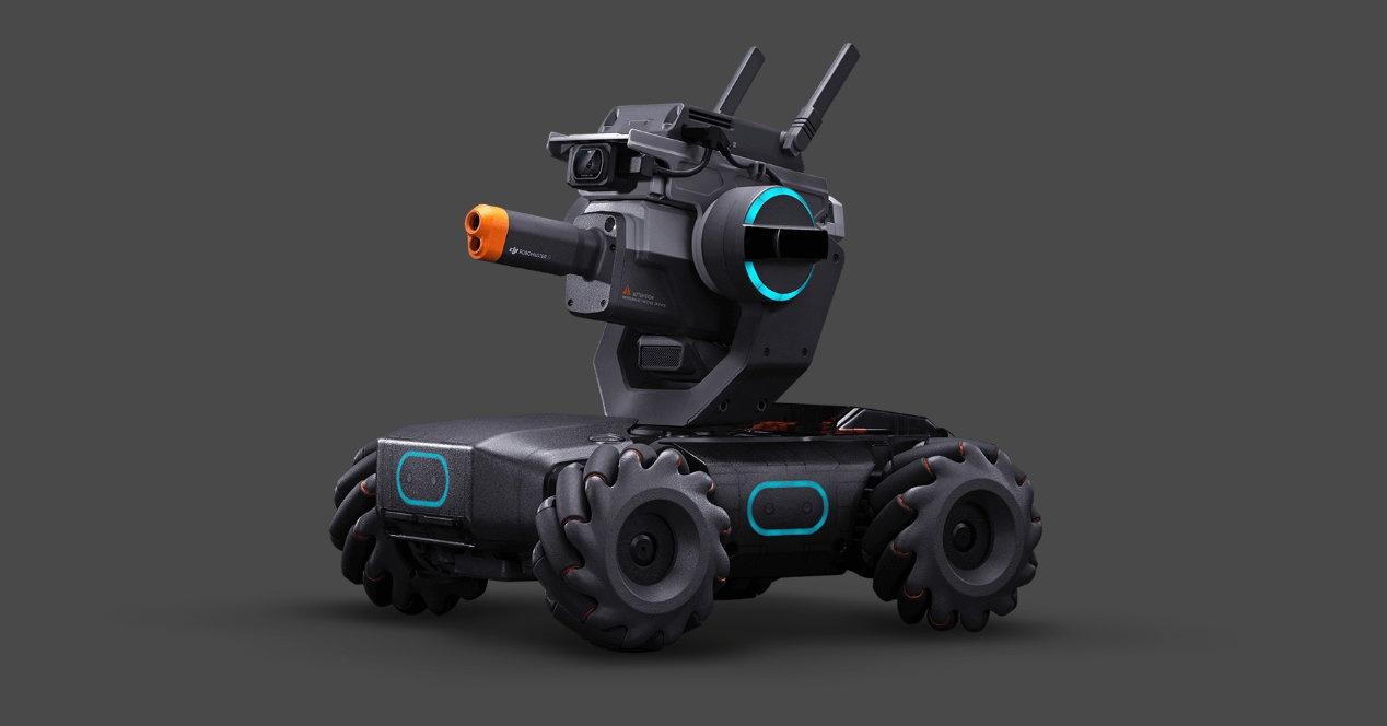 RoboMaster S1, DJI robot berria nahi izan dugun «jostailua» da