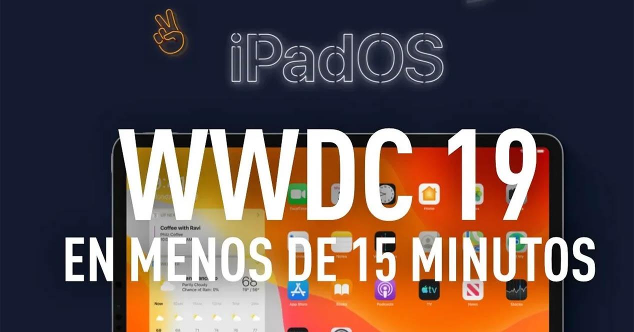 WWDC 2019ko albiste guztiak 15 minutu baino gutxiagoko bideo batean laburbildu ziren