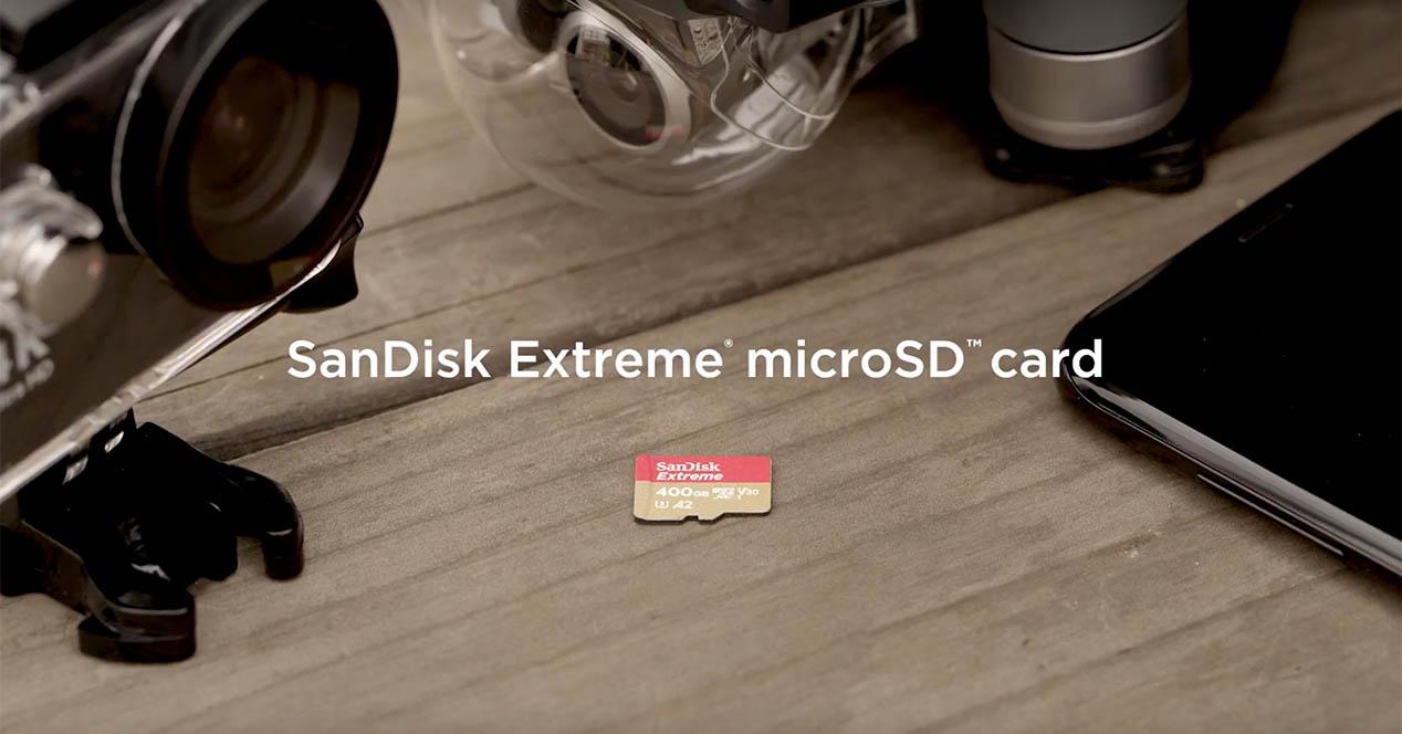Hau da microSDren biltegiratzean gorde dezakezun guztia 1 TB  530 euro balio du