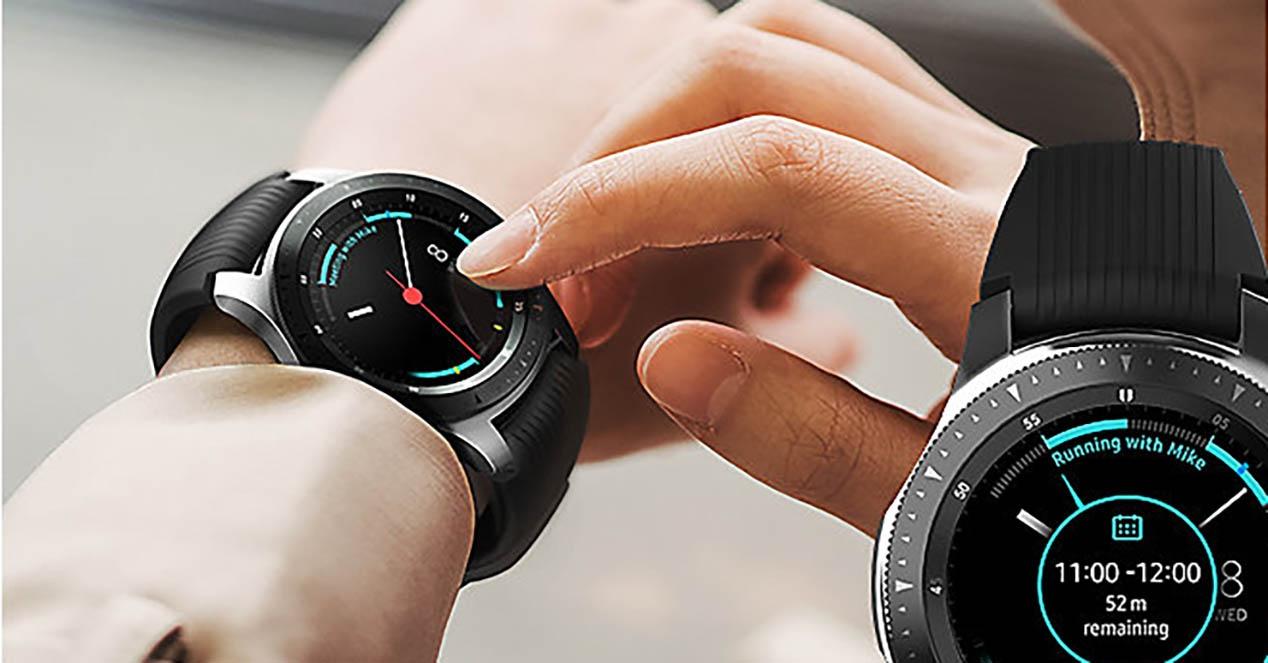 Samsung smartwatch bat hatz markako irakurgailuarekin? Hori patente batek adierazten du
