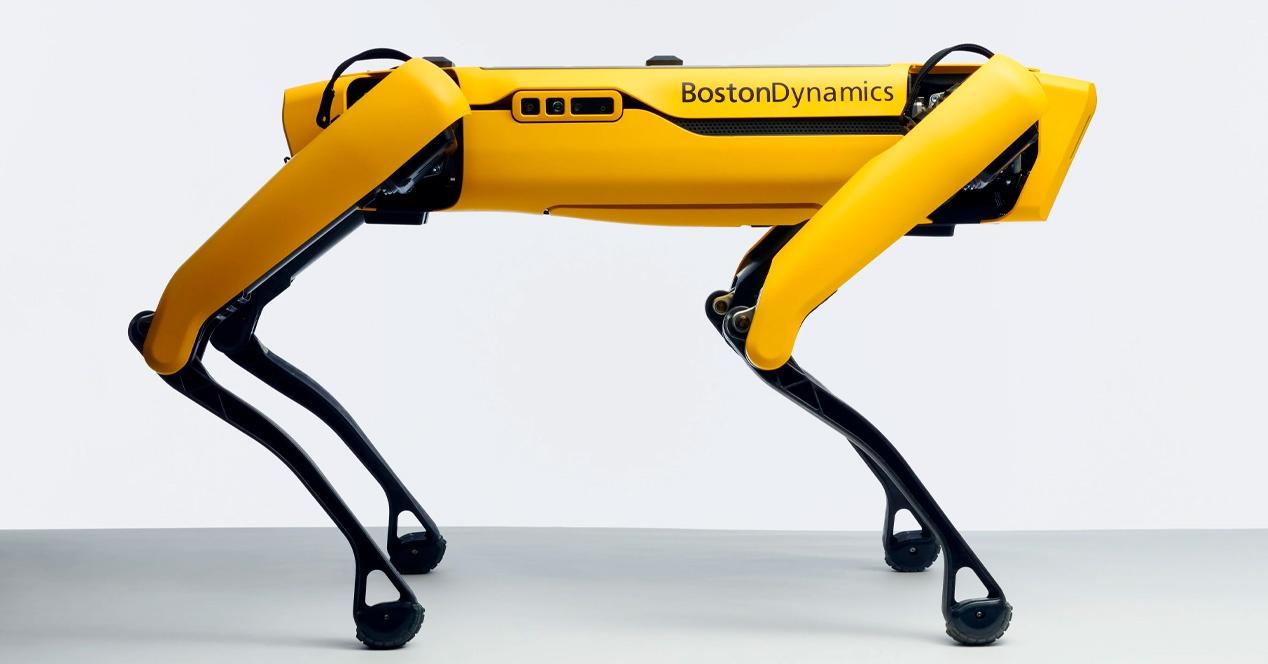 Boston Dynamics Dog Robotic Orain eskuragarri $ 74.500