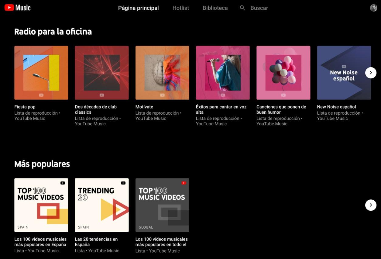 YouTube Musikak zure musika liburutegia kargatzeko aukera emango dizu