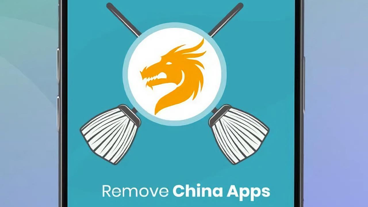 Çin uygulamalarını silen uygulama