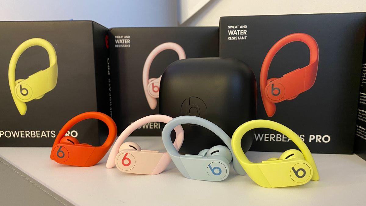 Apple Powerbeats Pro-ren kolore aukera berriak iritsi dira!