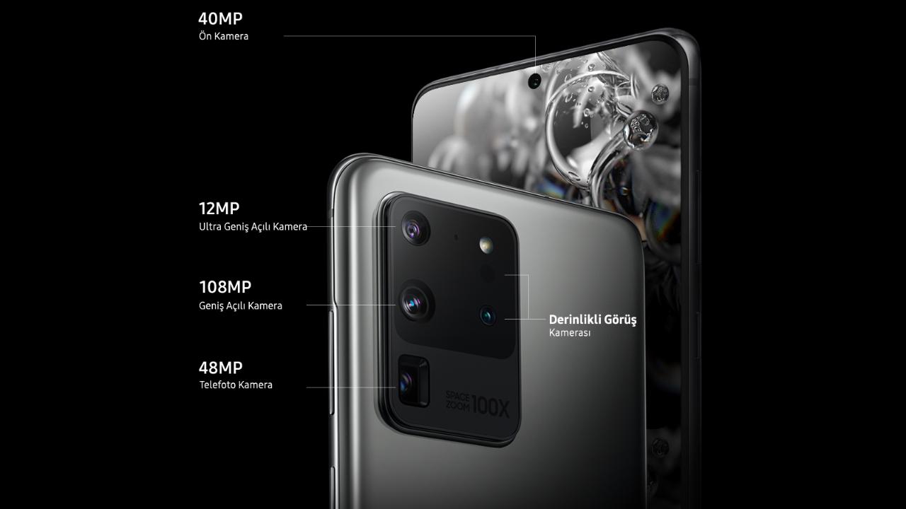Galaxy Zenbat puntu lortu ditu S20 Ultra-ren aurreko kamerak DxOMark-etik?