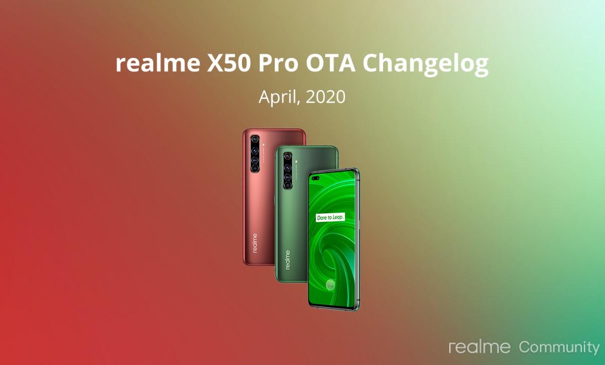 X50 Pro 5G-k eguneratze bat jaso du!