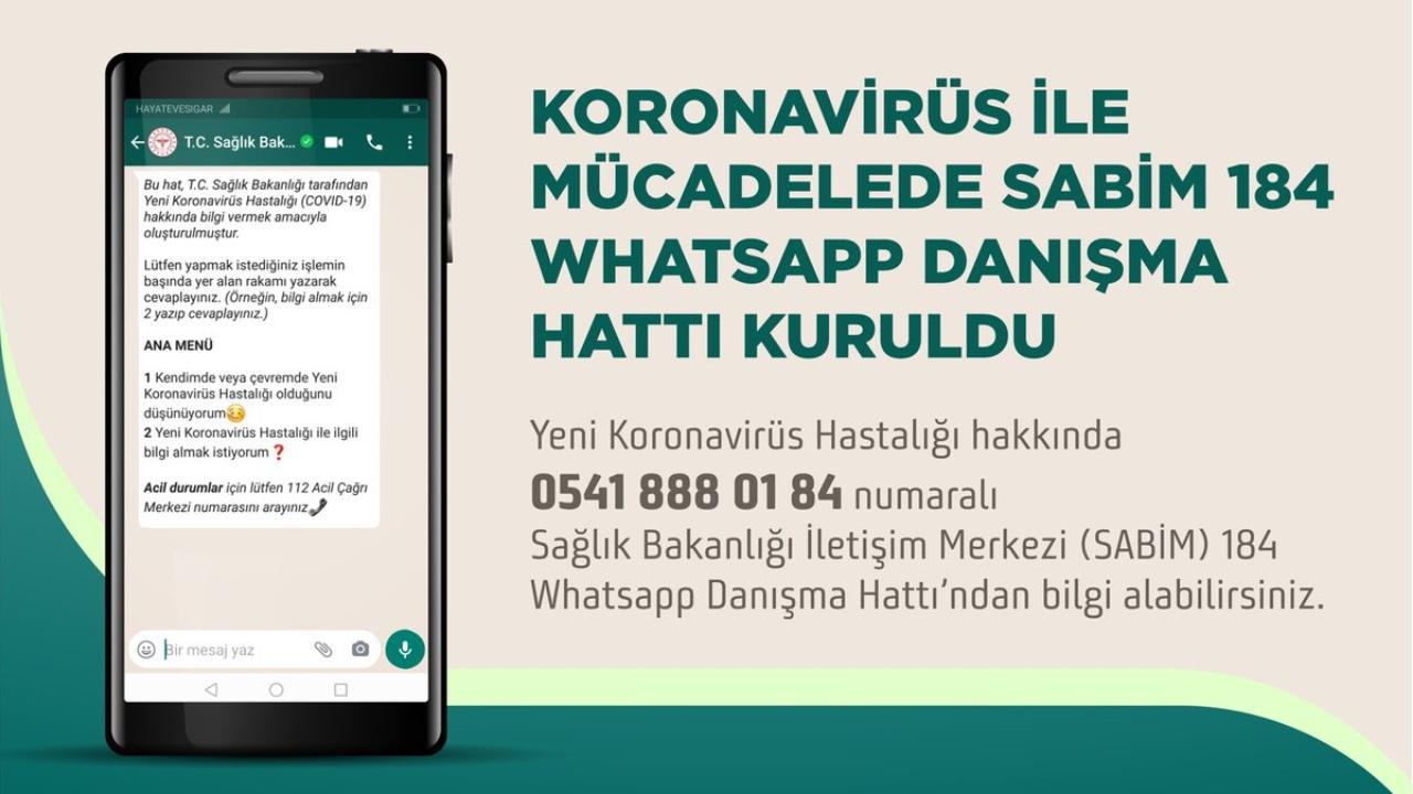 WhatsApp Turkey Hotline-n sortu zen koronavirusei aurre egiteko!