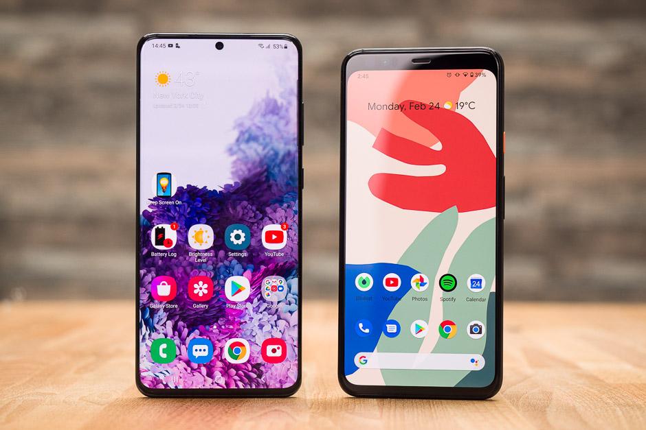 Galaxy S20 Ultra vs Google Pixel 4XL konparazioa!