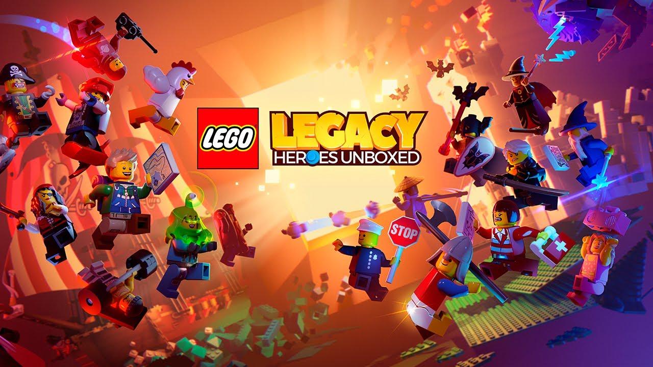 LEGO Legacy: Heroes Unboxed kaleratu da!