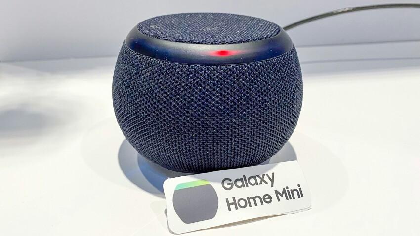 Samsung Galaxy Promozio aurretik ikusitako Home Mini