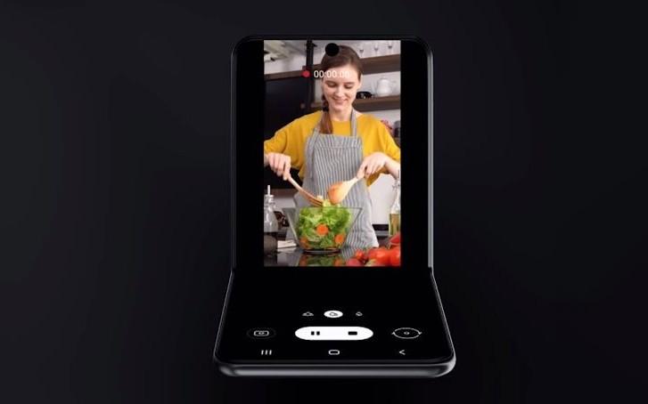 Galaxy Z Flip Samsung-en webguneari esker egiaztatu da!