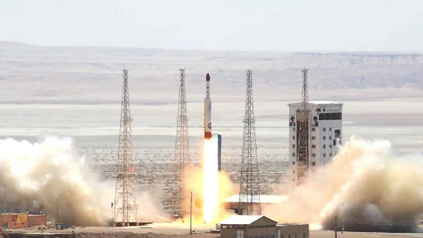 Irango sateliteak huts egin zuen orbita egin aurretik!