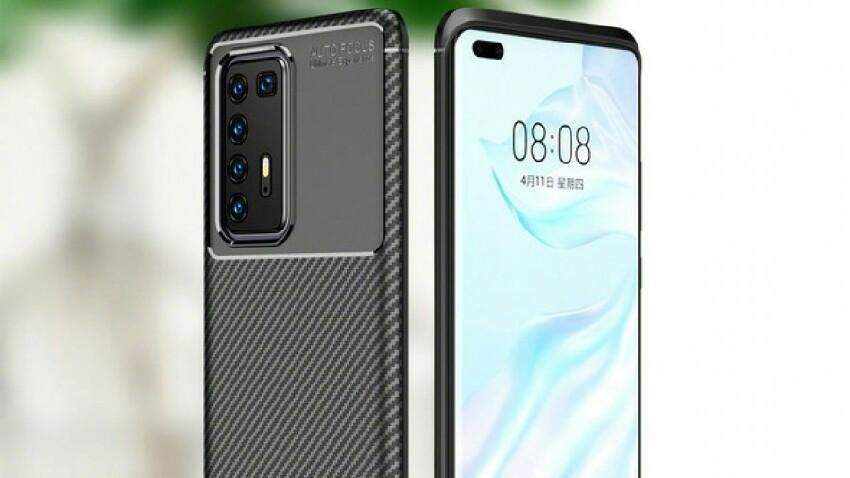 Huawei P40 Pro atzeko kameraren diseinua agertu zen