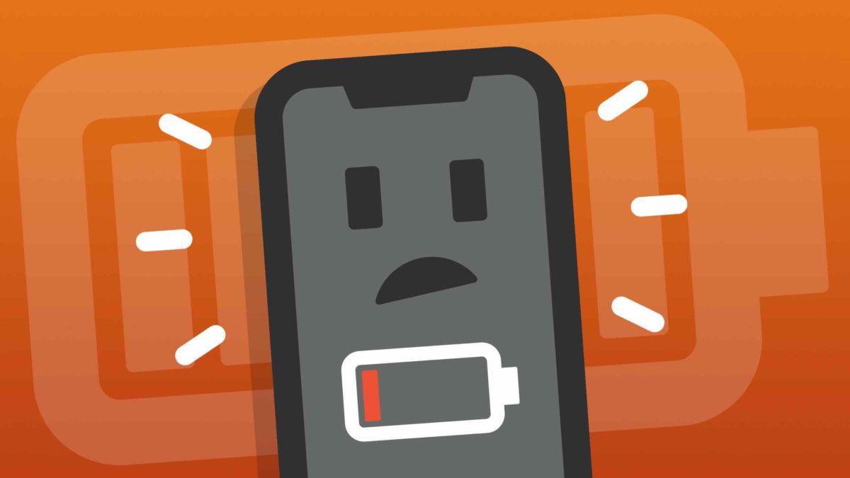 iPhone bateriaren denbora