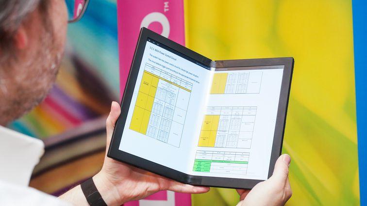 Ordenagailu tolestzailea Lenovo ThinkPad X1 Fold Sartu zen!
