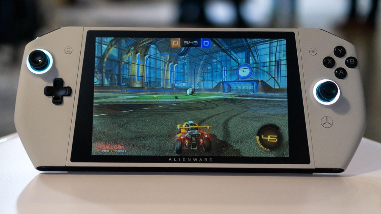 Alienware kontzeptua UFOrekin Nintendo SwitchMerkaturatik ezaba daiteke!