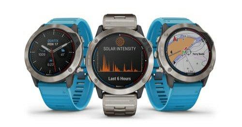 Garmin-ek Quatix 6X Eguzki GPS Smartwatch abian jarri zuen