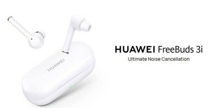 Huawei-ren FreeBuds 3i berriak Zarataren Ezeztapen Aktiboa du