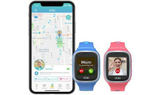 Fitbit-en hurrengo 4G Smartwatch Umeentzako da