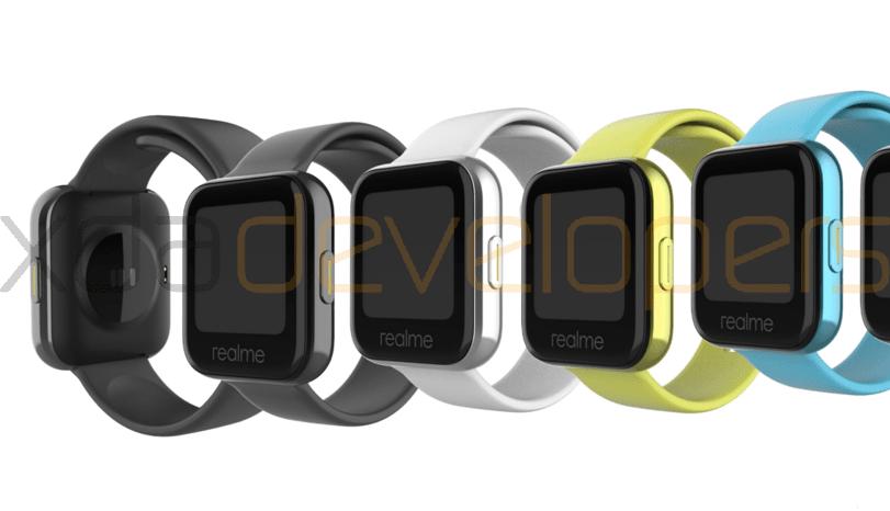 Realme Watch Ezaugarriak iragazi egin ziren, Wear OS-ekin ez datozenak