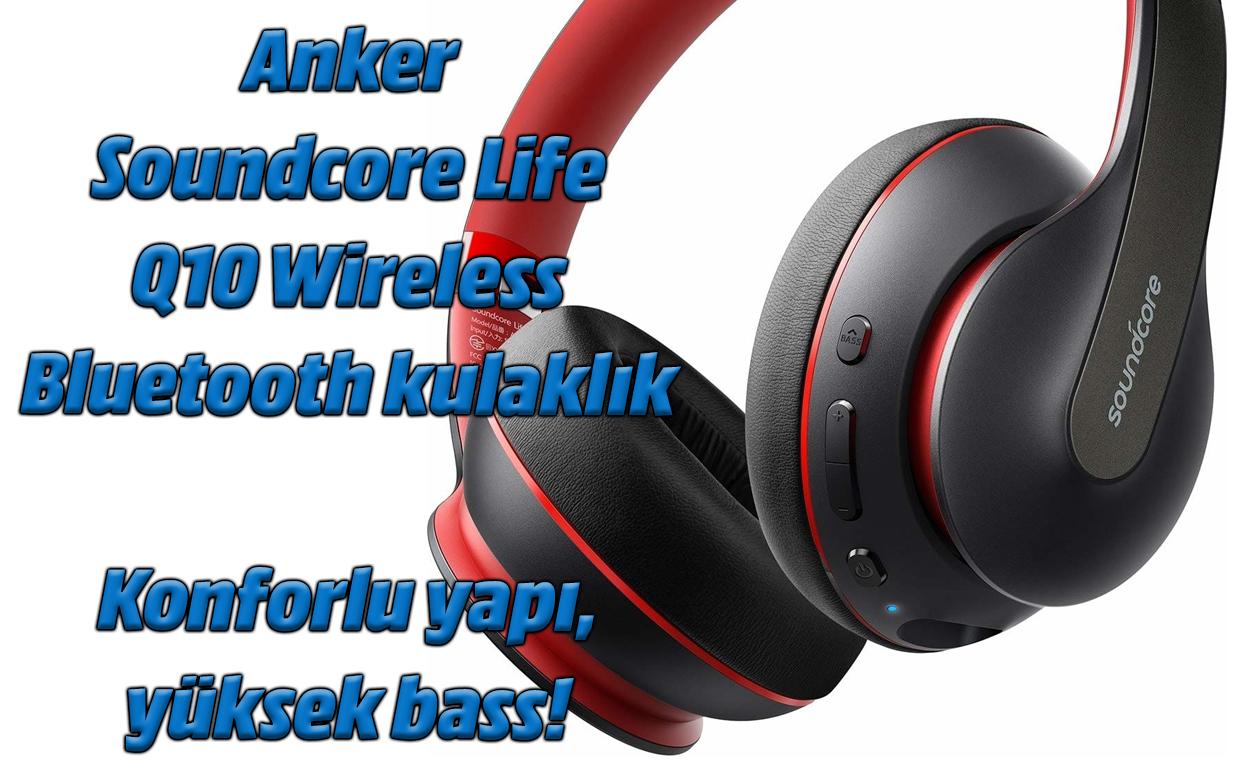 Anker Soundcore Life Q10 Haririk gabeko Bluetooth aurikularra
