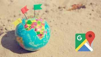 Nola erabili Google Maps-en Plus ikonoak