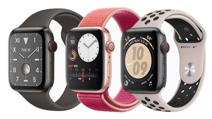 GPS eta nabigaziorako aplikaziorik onenak Apple Watch Series 4 & Multzoa 5