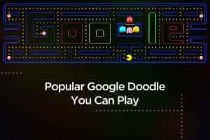 2020ko 15 Google Doodle joko onenak