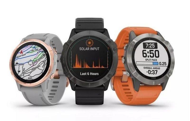 Garmin-ek Fenix abian jarri zuen 6 Smartwatches serieak