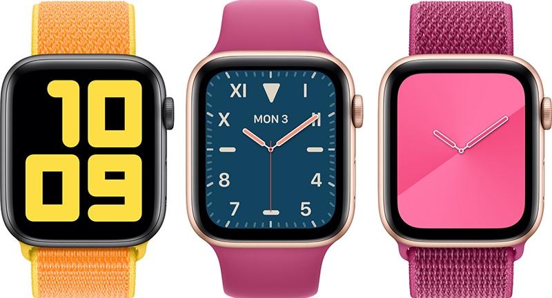 Apple Watch Series 5 Hurrengo hilabetean abian jarri ahal izango da, sarean filtratua