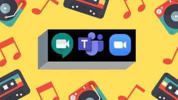 Nola partekatu bideoa audioarekin Zoom, Microsoft Teams eta Google Meet zerbitzuetan