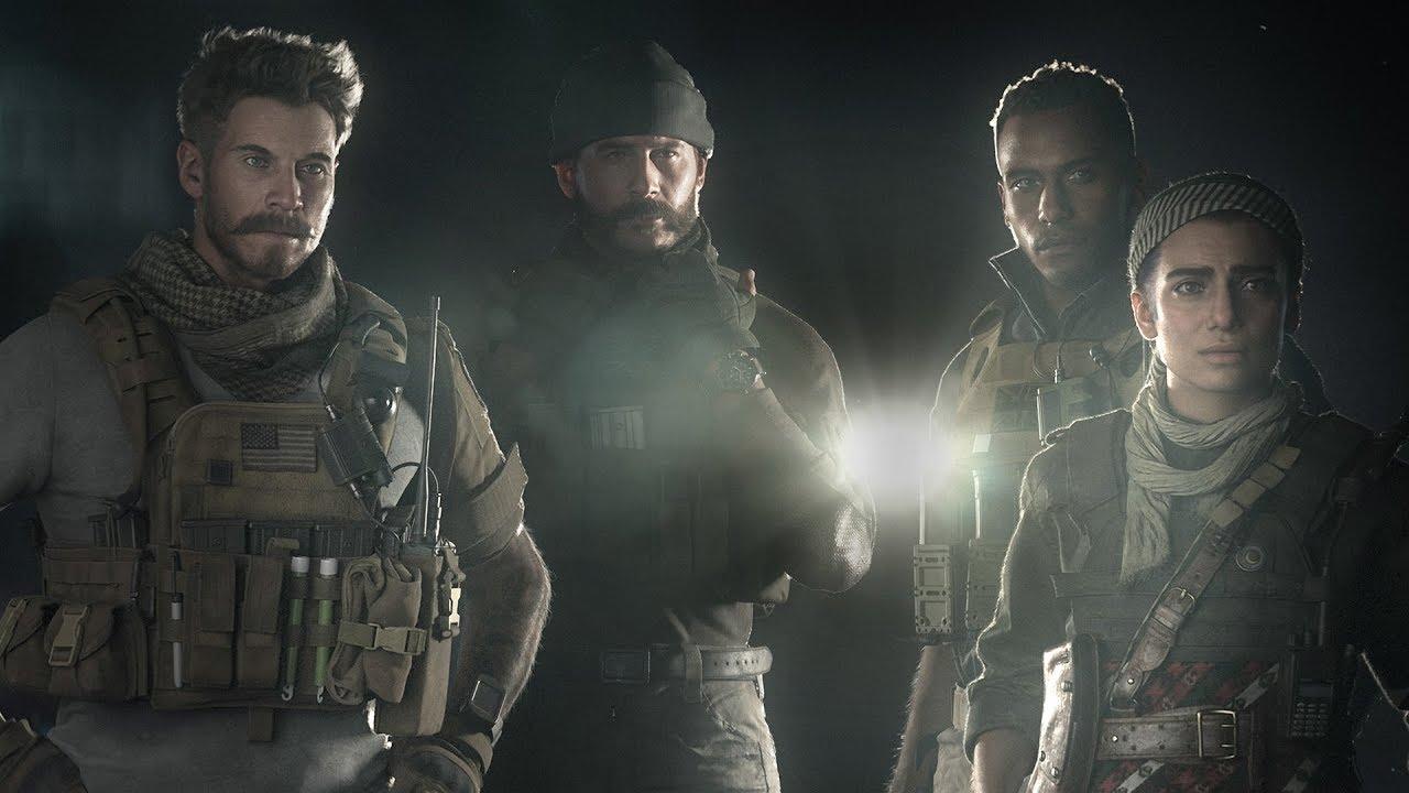 Call of Duty Modern Warfare konparazio grafikoa