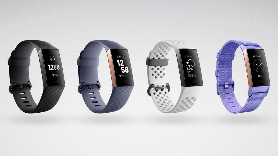 Fitness Tracker Fitbit karga 3 Indian jarri zuten abian