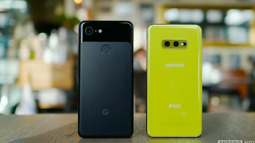 Fidagarriak al dira Google eta Samsung telefonoak?