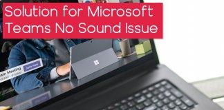 Nola konpondu Microsoft Teams soinu sistemaren arazoa Windows 10