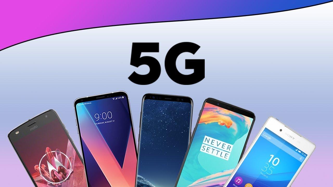 5G laguntzarekin telefono salmentak lehertu egingo dira 2020an.