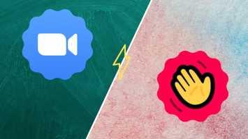 Zoom vs. HouseParty: zein bideo txat aplikazio erabili behar den