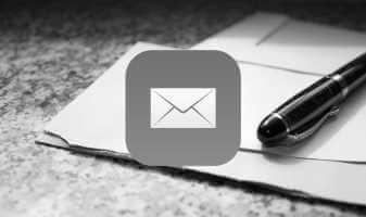 Onena 4 Konponketak posta elektronikoko aplikazioen galera iPhone eta iPad-en
