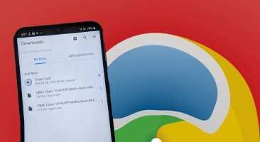 Onena 9 Deskargarako konponketak Chrome-n eten egiten dira Android-en