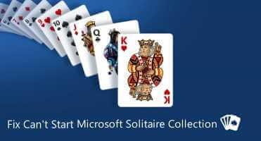 Konpondu Microsoft Solitaire taldea ezin dela abiarazi