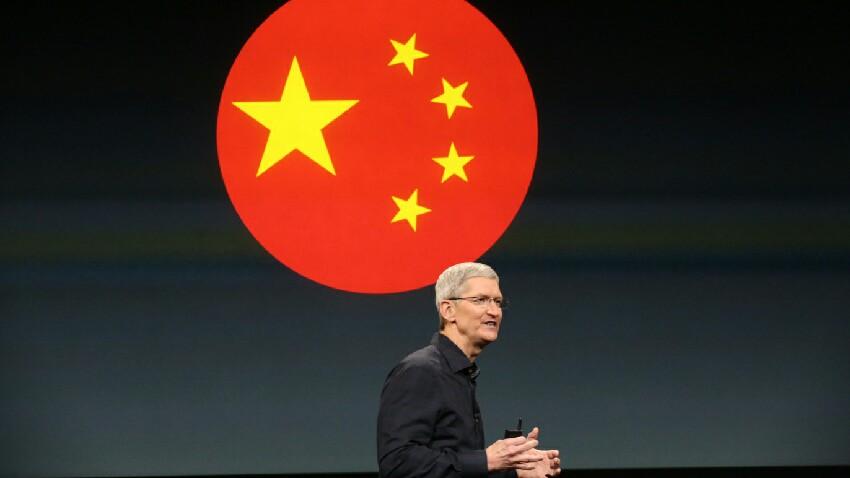 Txinako merkatuan Apple salmentak gora doaz