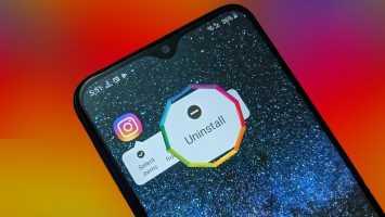 Zer gertatzen da desinstalatzean Instagram Zure telefonotik