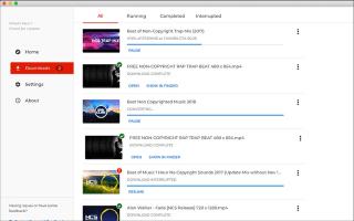 Onena 8 Bideoak deskargatzeko aplikazioak hemendik aurrera YouTube Android-en 2020rako