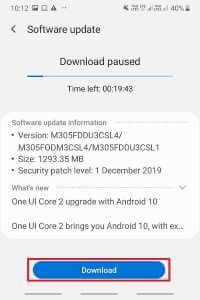 Nola eskuz eguneratu Android azken bertsiora