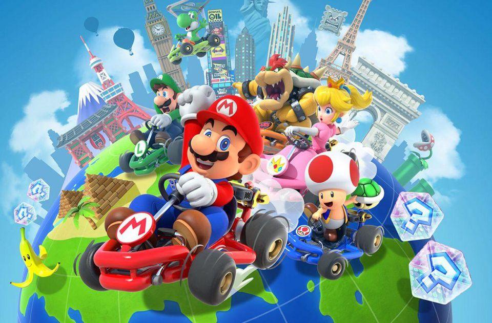Mario Kart Tourrak 90 milioi deskarga gainditu ditu!